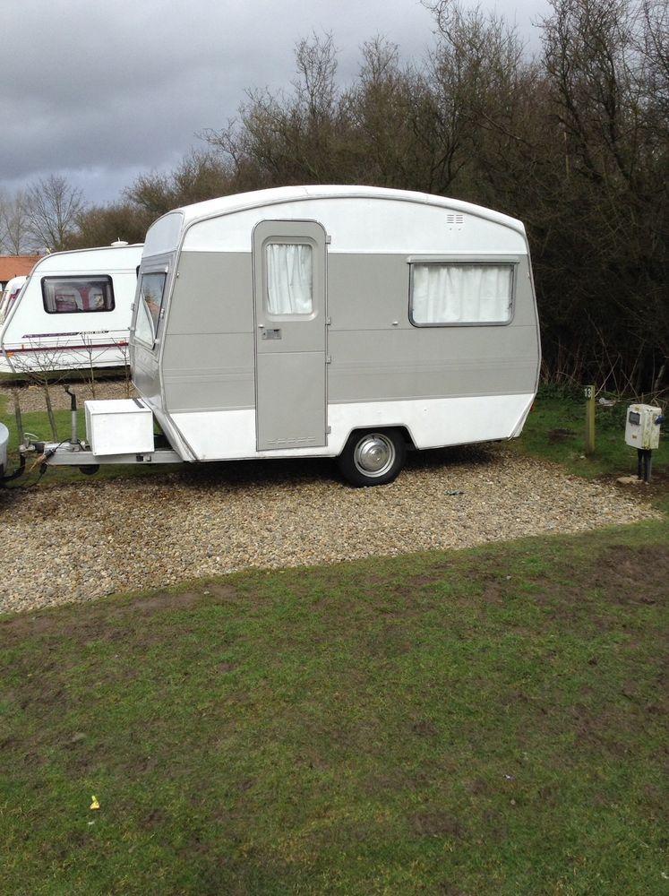 Vintage Caravan Sprite 400 With Beautiful Cath Kidston