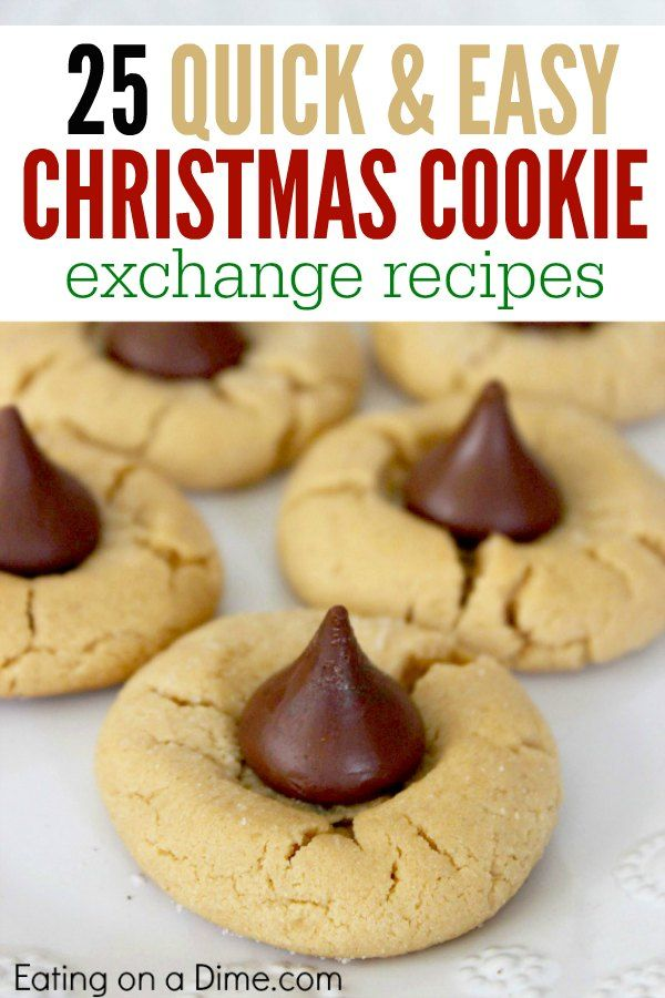 25 Days Of Christmas Cookie Exchange Recipes Celebrate Christmas