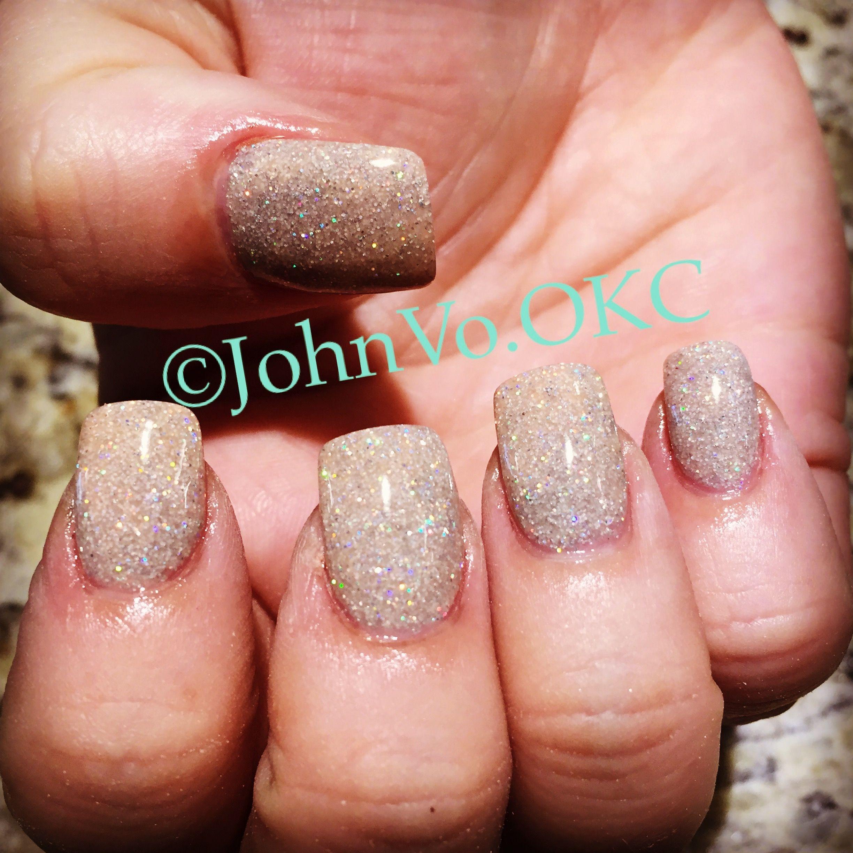 ANC Sand Glitter # 69 Dip powder nails | Beauty | Pinterest