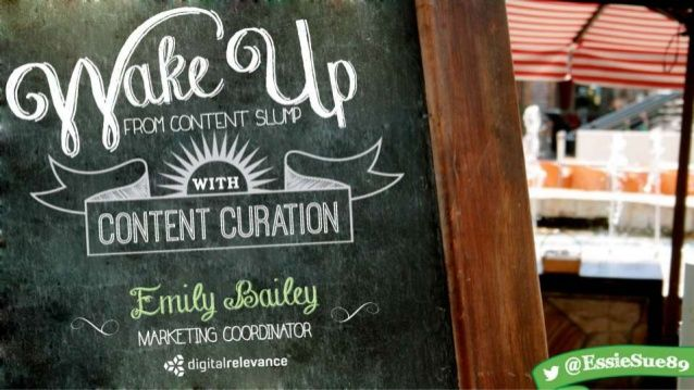 Wake Up From Content Slump With Content Curation by