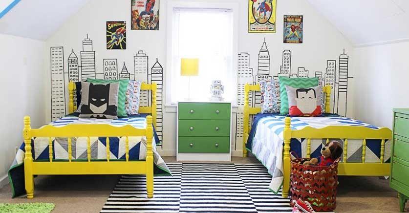 Descubre las habitaciones tem ticas para ni os m s originales una isla pirata el castillo de - Habitaciones infantiles tematicas ...