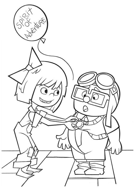 Up The Movie Printable Coloring Pages