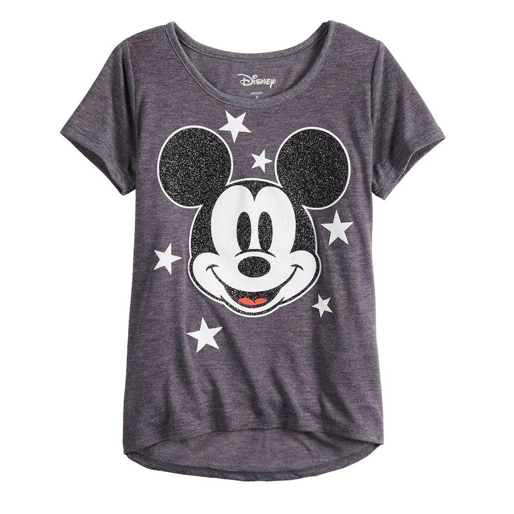 Classic Disney Cartoon Mickey Mouse Las Vegas Charcoal Adult T-Shirt Tee
