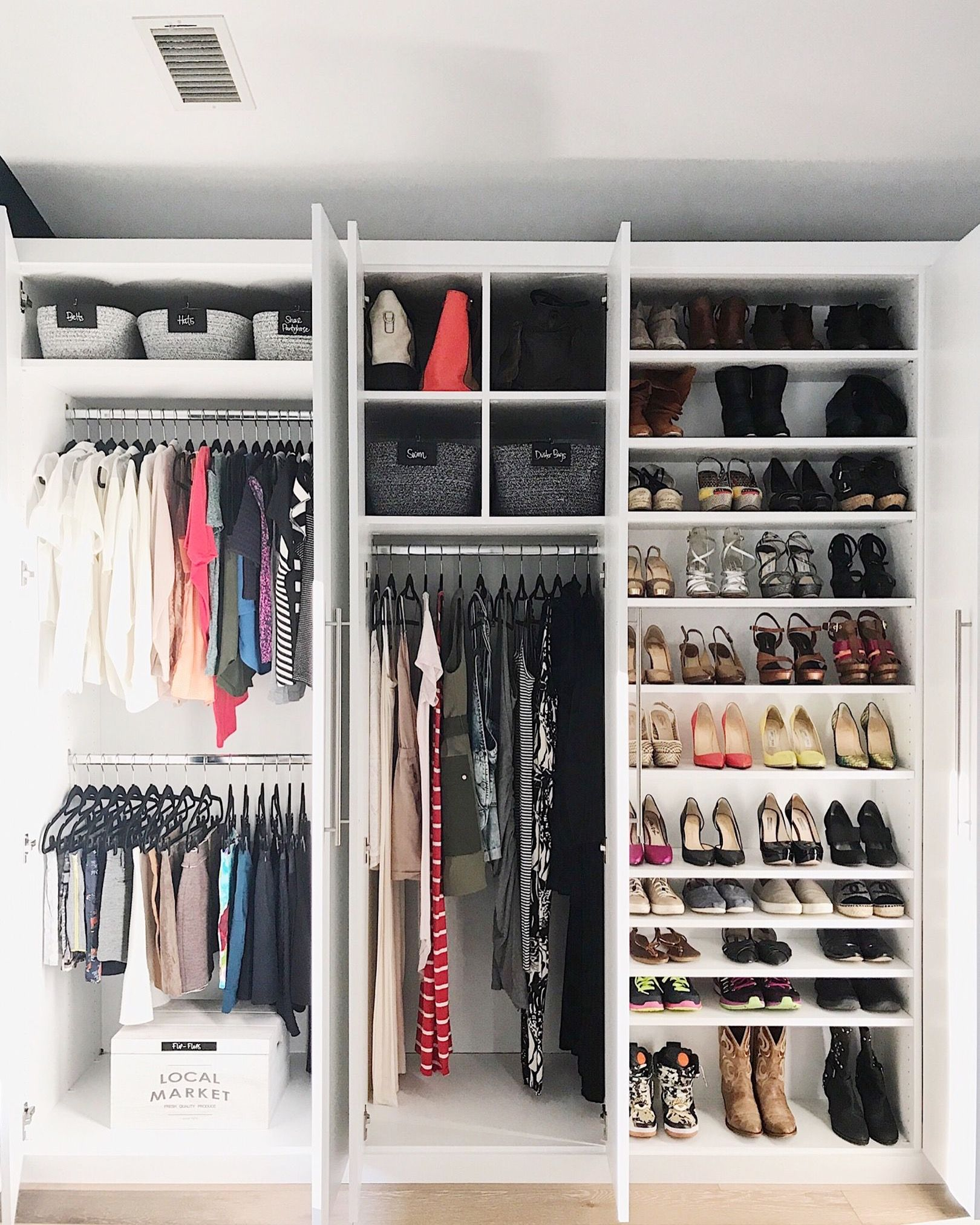 Neat Method Closets Closet Ideas Closet Storage Closet Design