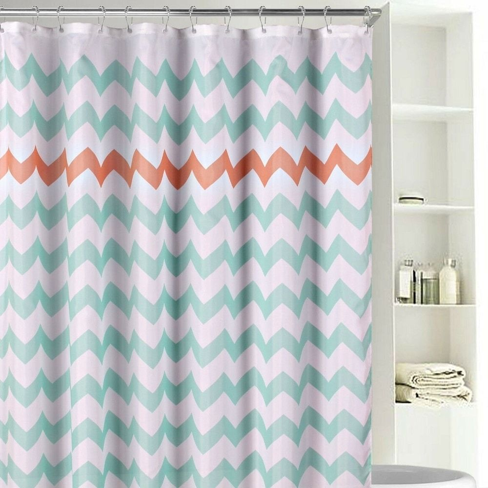 Shower Curtains Pink Bathroom Decor Orange Bathrooms Shower Curtain