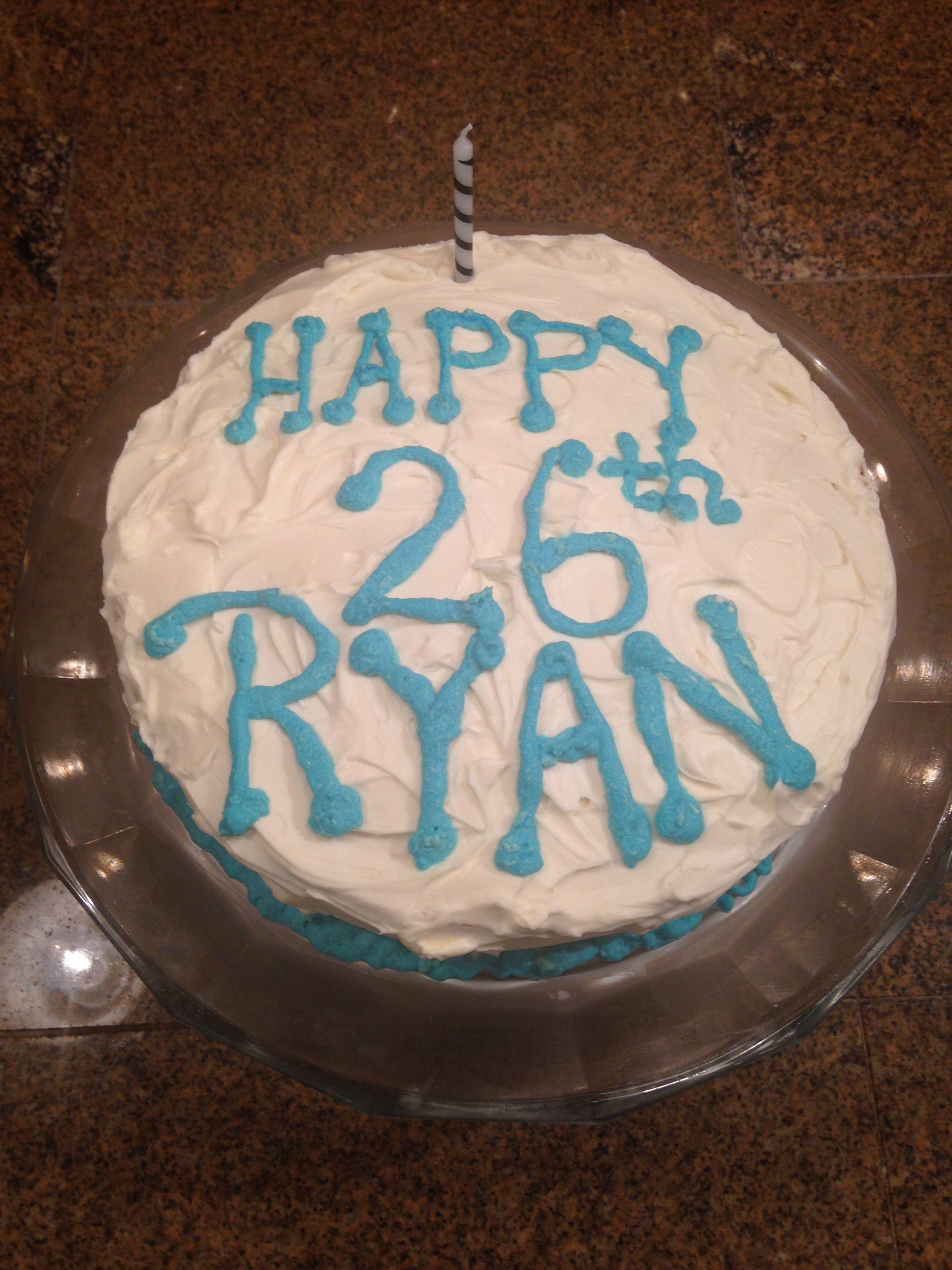 Ryans Birthday Cake I Made This Pinterest Birthday Cakes