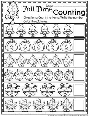 Fall Preschool Unit | HOMESCHOOLING | Preschool, Fall preschool ...