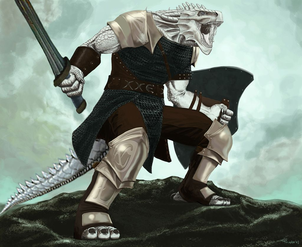 Dnd White Dragon: Dragonborn Fighter Warlord White In 2019