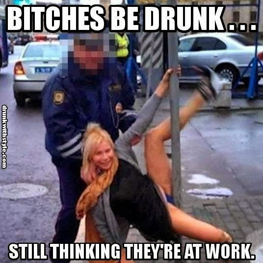 c2a3e708661d840fc8f050acc0f57241 girls be drunk still thinking they are at work funny pole dancers