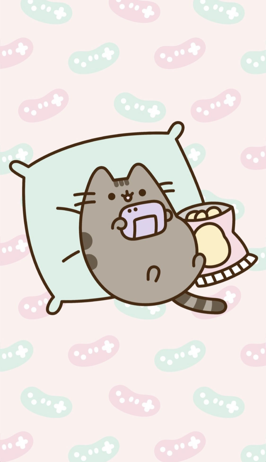 Pusheen Gaming Wallpaper Pusheen Cute Pusheen Cat Cat Wallpaper