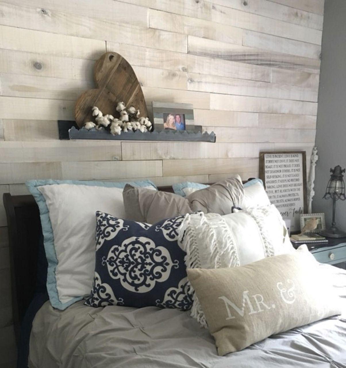 White Wash Wall Boards Accent Wall By Tanya Smithandsparrow White Wash Walls White Wash Accent Wall