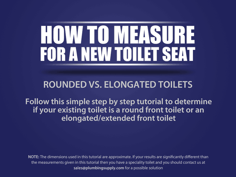 How To Measure For A Toilet Seat New Toilet Toilet Step Toilet