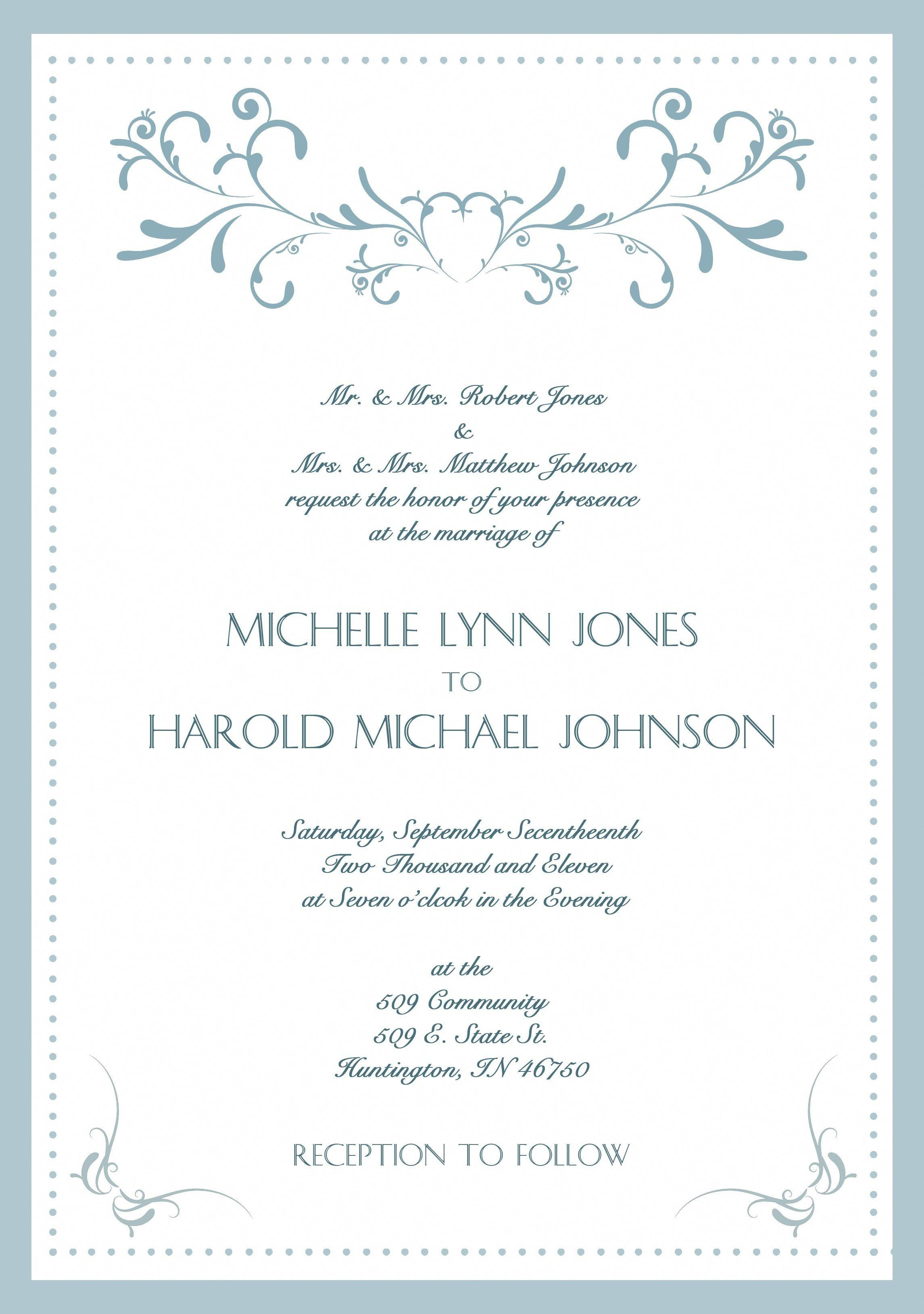 Wedding Invitation Language.20 Wedding Invitation Language Wedding Invitation Language Formal