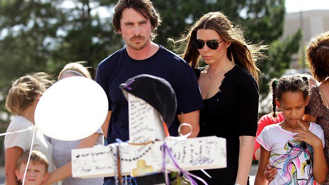 Christian Bale in Colorado. Proof again he is awesome.