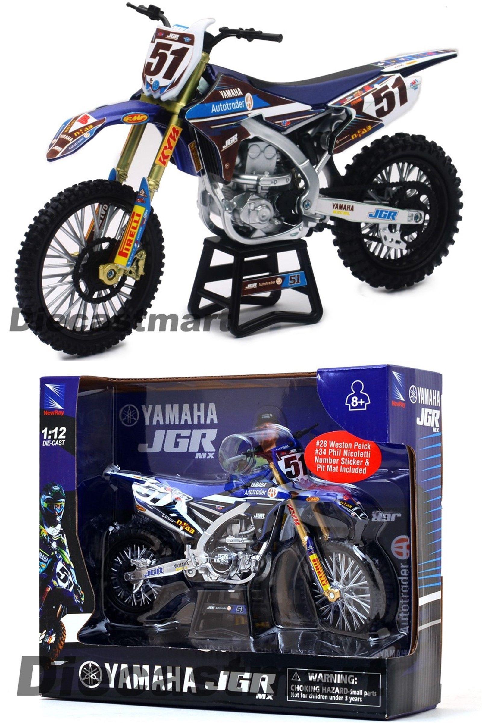 Contemporary Manufacture 45348 Newray 1 12 57713 Jgr Yamaha