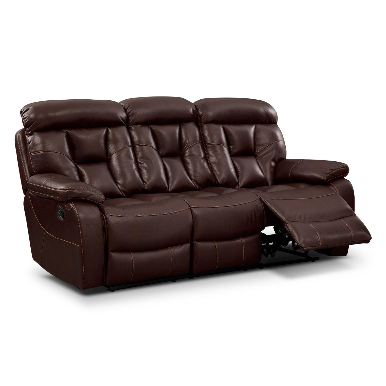 Dakota Reclining Sofa Value City Furniture New Home  ~ Sofa Bed City Furniture