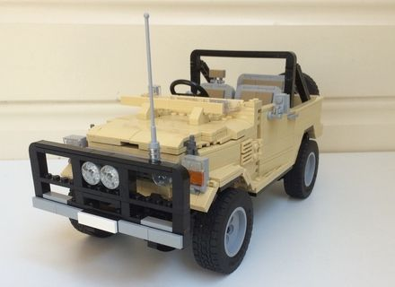 LEGO Ideas - Toyota Landcruiser 40 Series