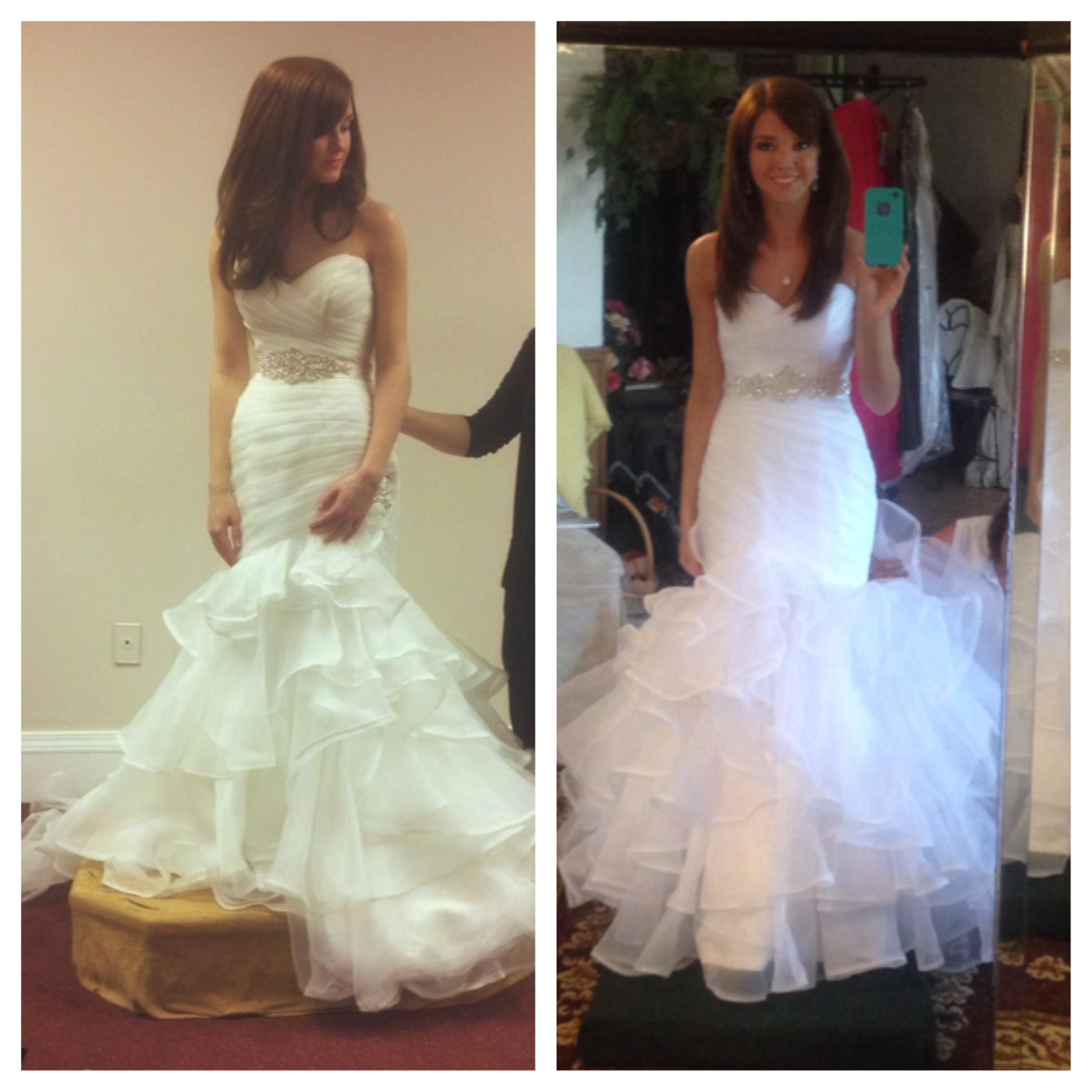 I got my wedding dress altered and now i dont like it weddingbee i got my wedding dress altered and now i dont like it ombrellifo Image collections