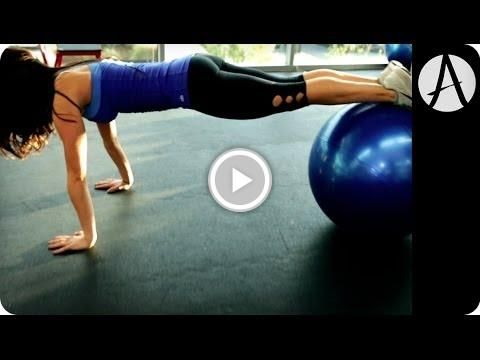 Free Video - BALANCE BALL: 1 Minute Challenge | Autumn Fitness @AutumnCalabrese