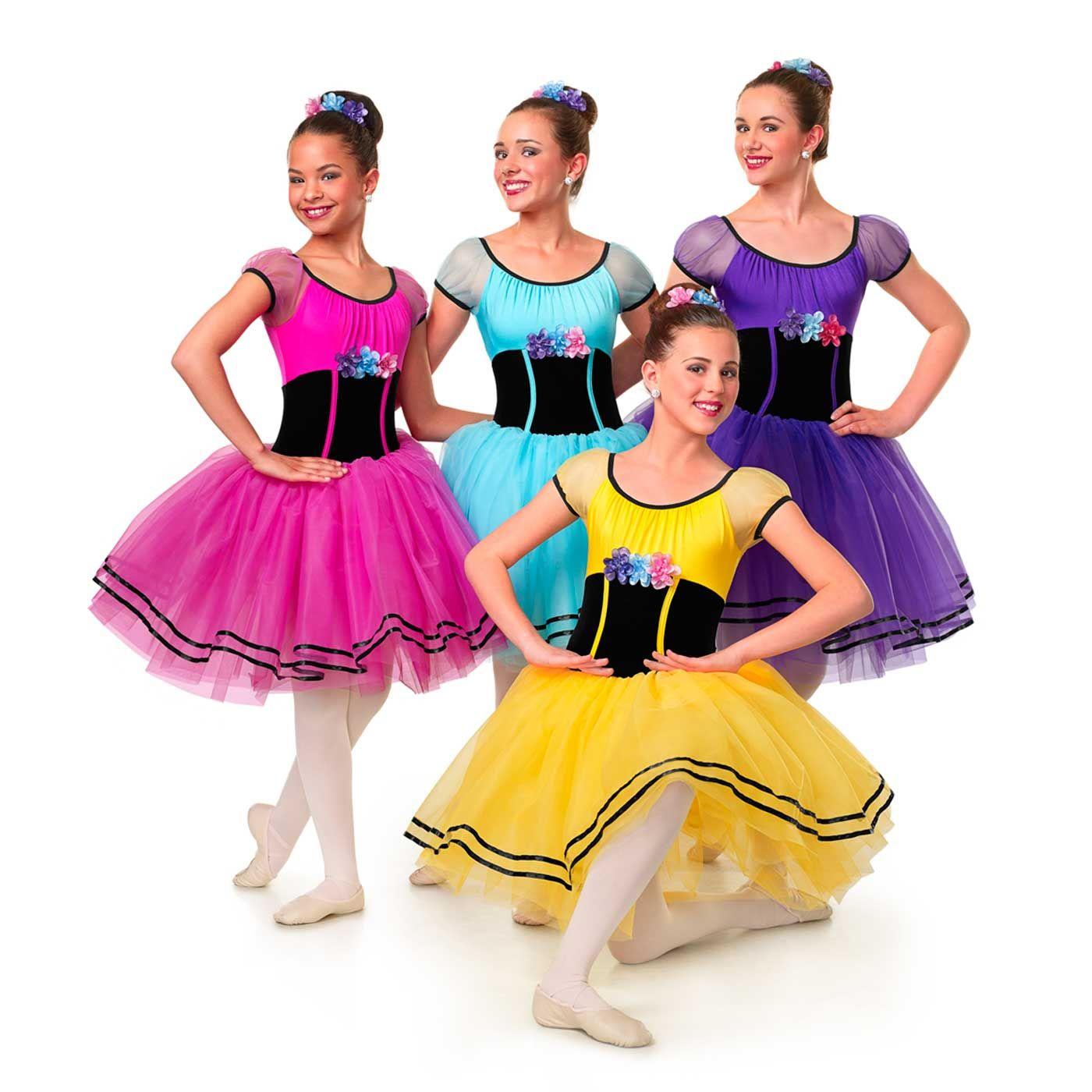 Curtain call villager cute dance costumes dance