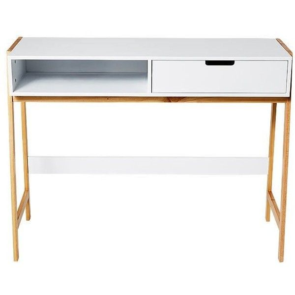 Bailey Desk Target Australia 53 Liked On Polyvore Featuring Home Furnitur Contemporary Office Desk Modern Classic Furniture Contemporary Modern Furniture