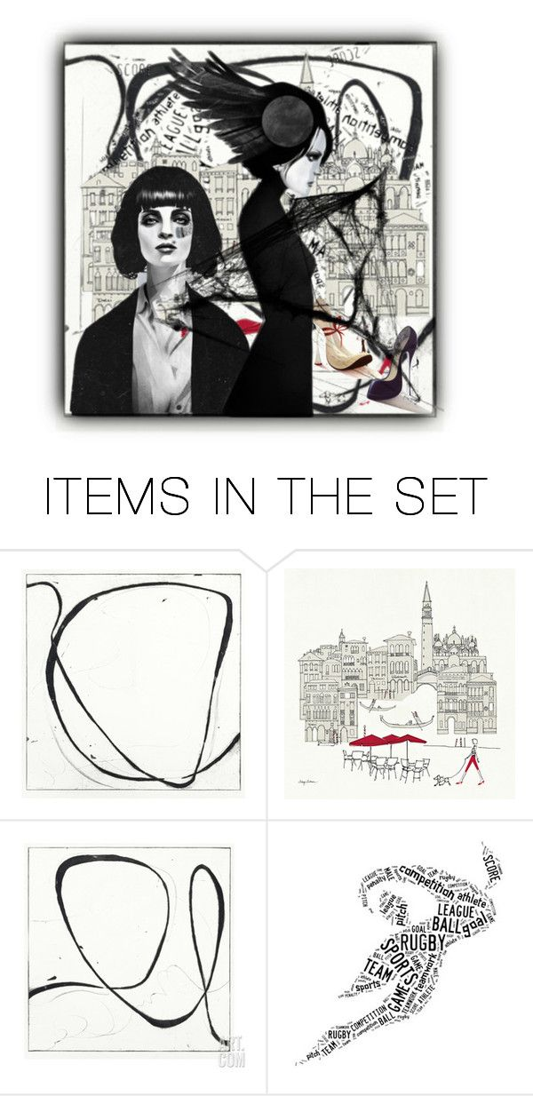 """""""Geen titel #32021"""" by lizmuller ❤ liked on Polyvore featuring art"""