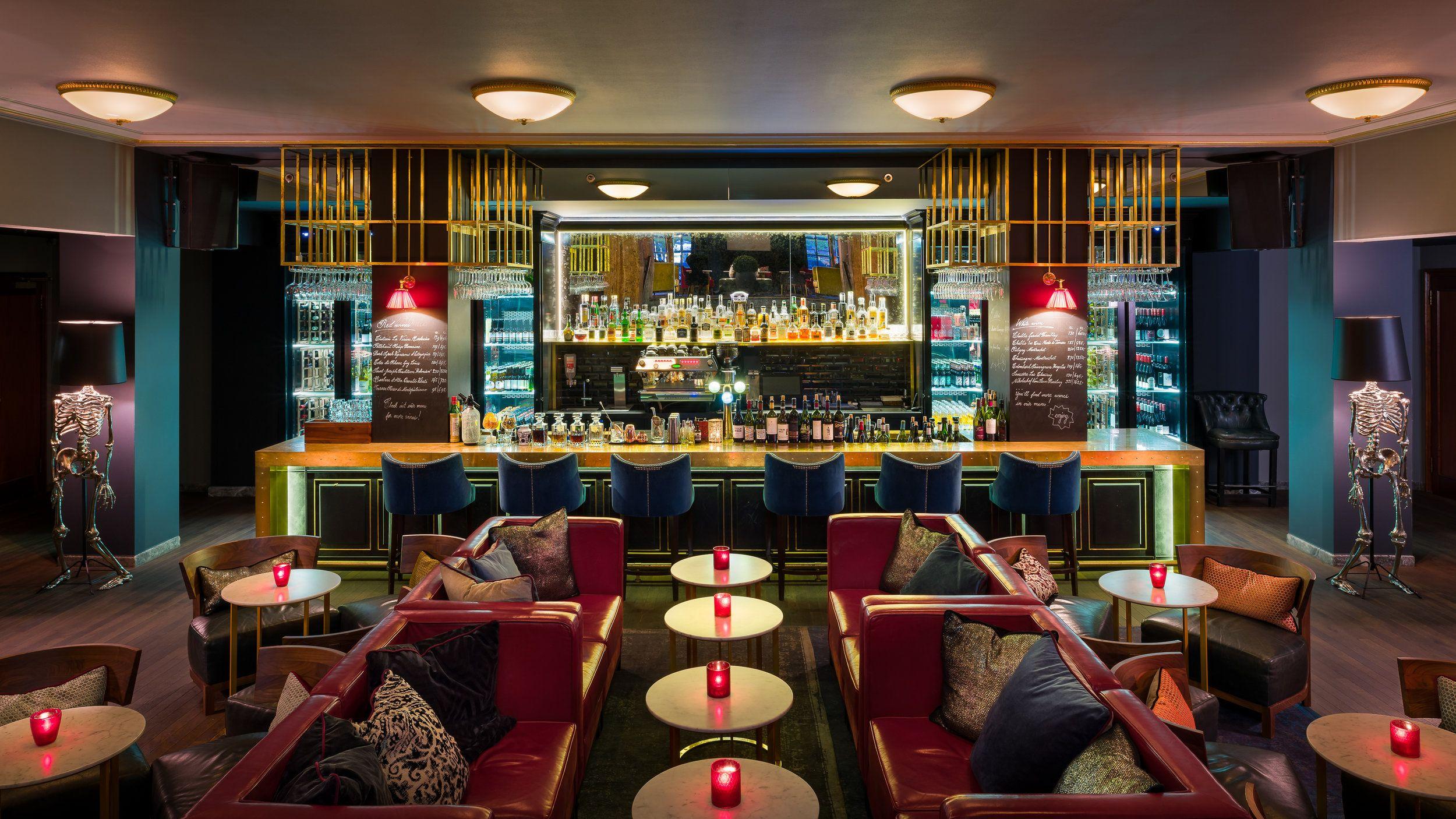 mid century modern restaurant in oslo rocks the best lighting designs