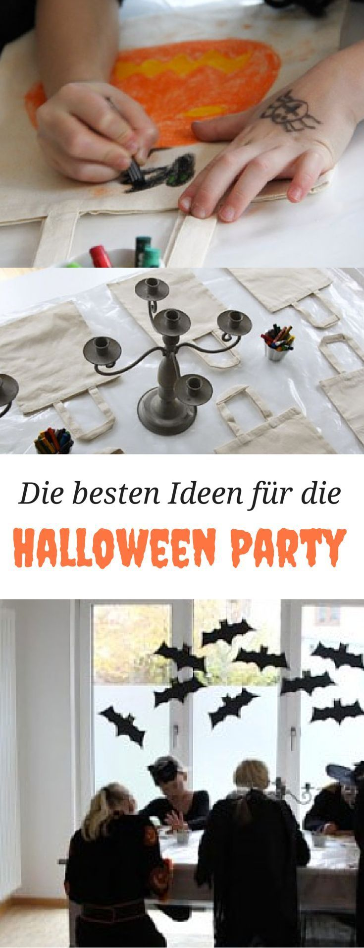 Ideen für eine Halloweenparty