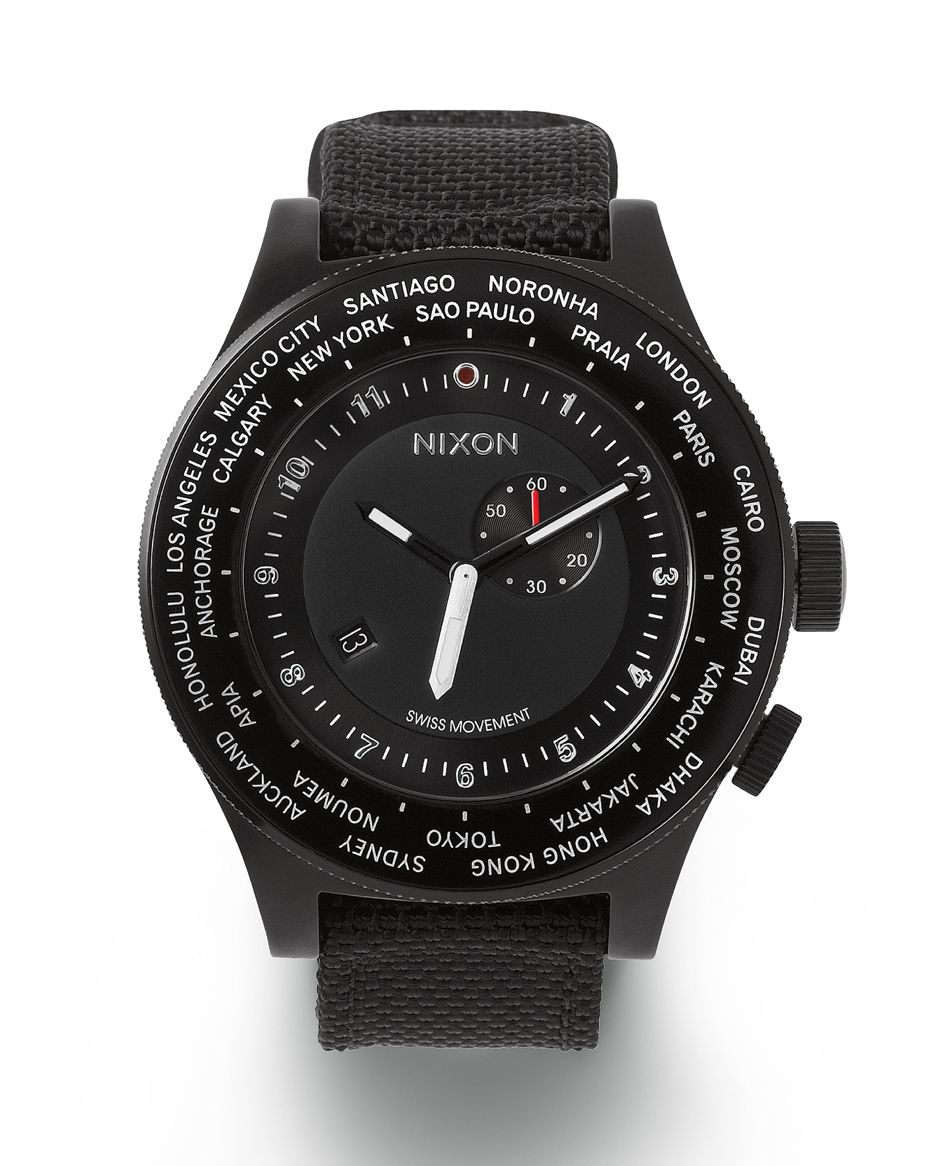 #Nixon: Move In Sync To The World. Introducing The Passport, New from Nixon