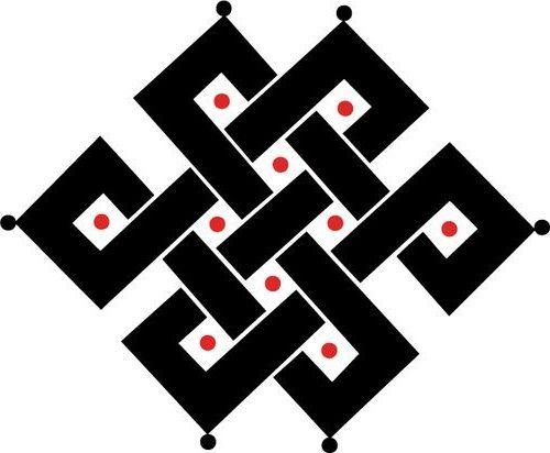 Les Symboles Du Bouddhisme Tibétain A R T Symbole