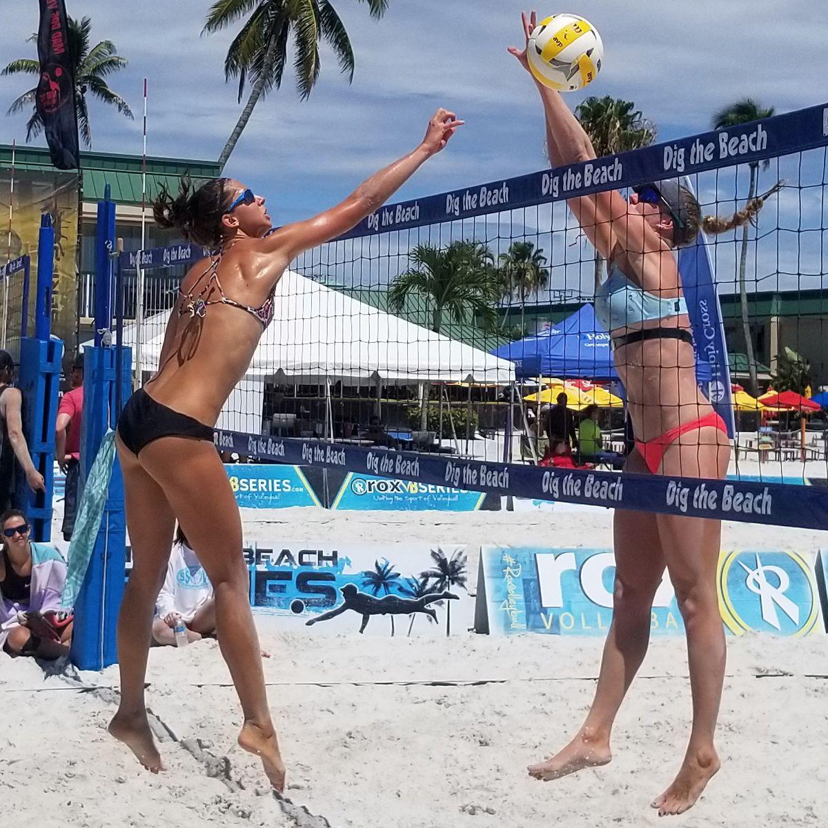 Pin On Beach Volleyball Girls