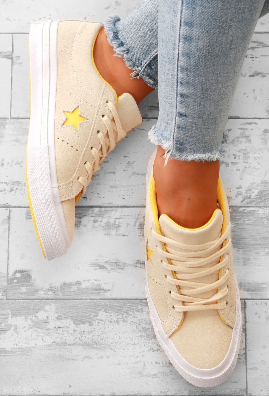 d5b29fe3562735 Converse One Star Yellow Suede.  RatedOneStar