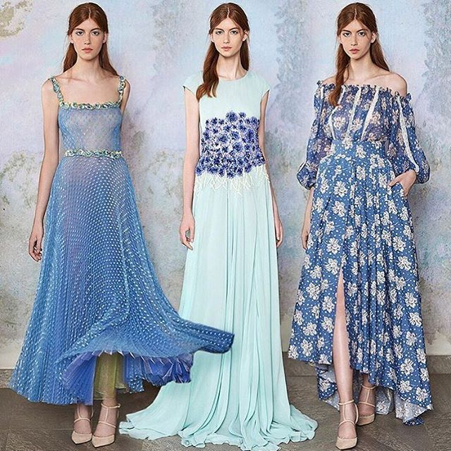 WEBSTA @ luisabeccaria_official - Dreamy Blue 💙  #LuisaBeccaria #Resort17 •Repost @modaoperandi Step into a fairytale with @luisabeccaria_official | tap link in bio to PreO the dreamy blue #gowns with this season's #boho detailing  #ModaOperandi •#luisabeccaria_ss17#dreamydresses#dreamydress#dreamygowns#huesofblue#romantic#romance#shoponline#preorder