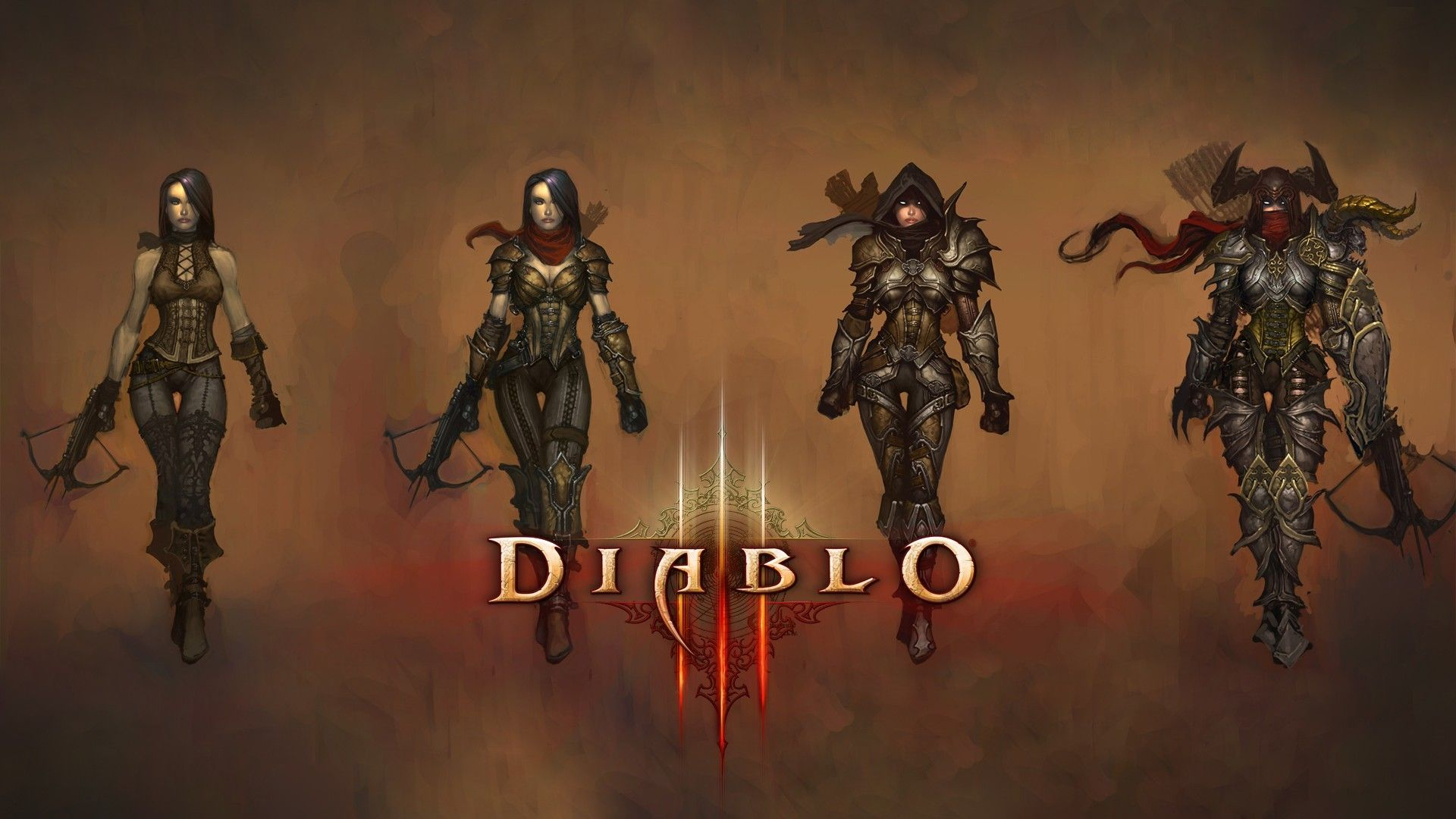 diablo iii demon hunter demon hunter diablo wallpaper mocah