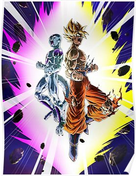 Goku and Frieza Poster