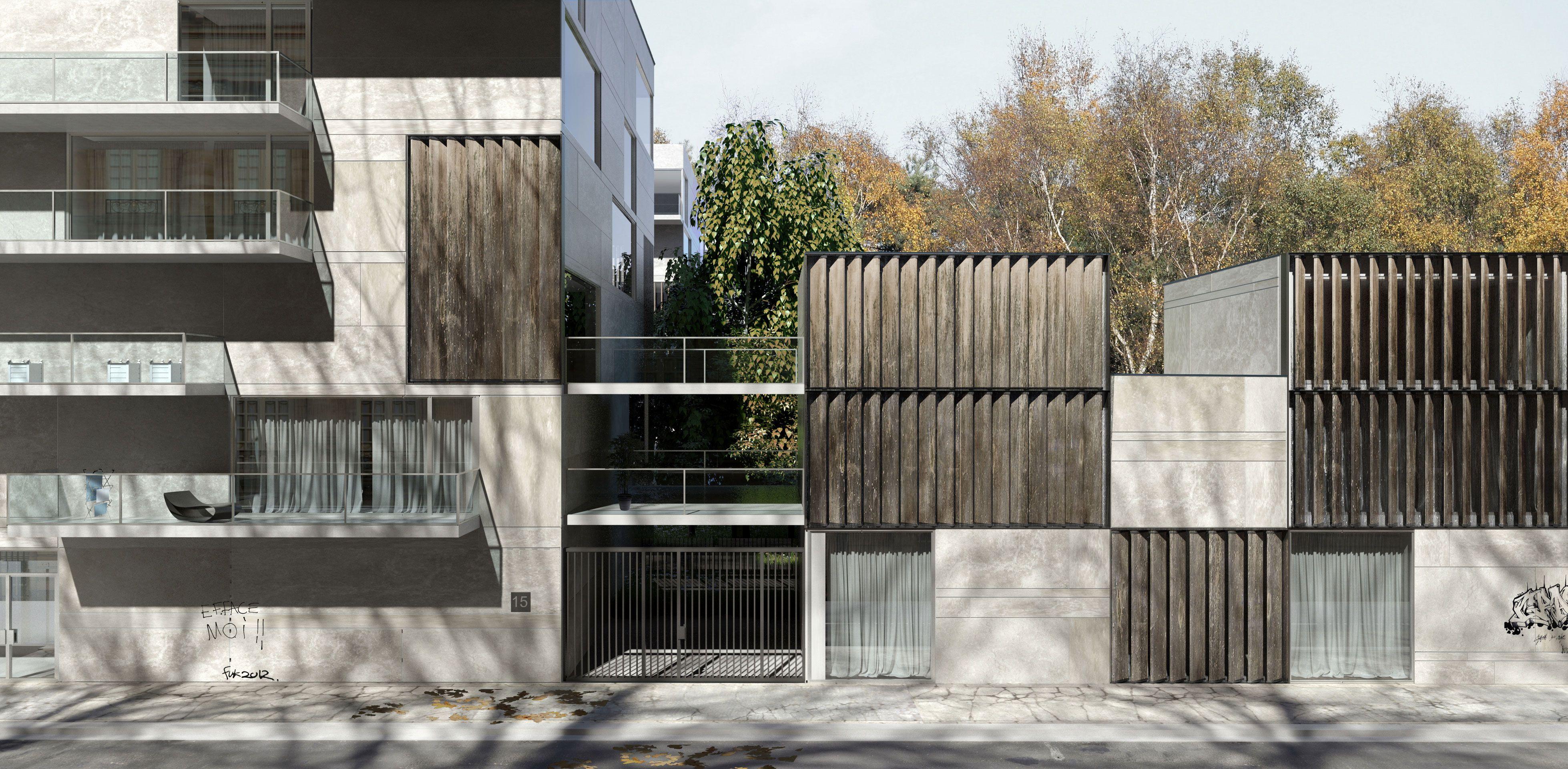 Pierre Minassian | Logements | Pinterest | Facades and Architecture