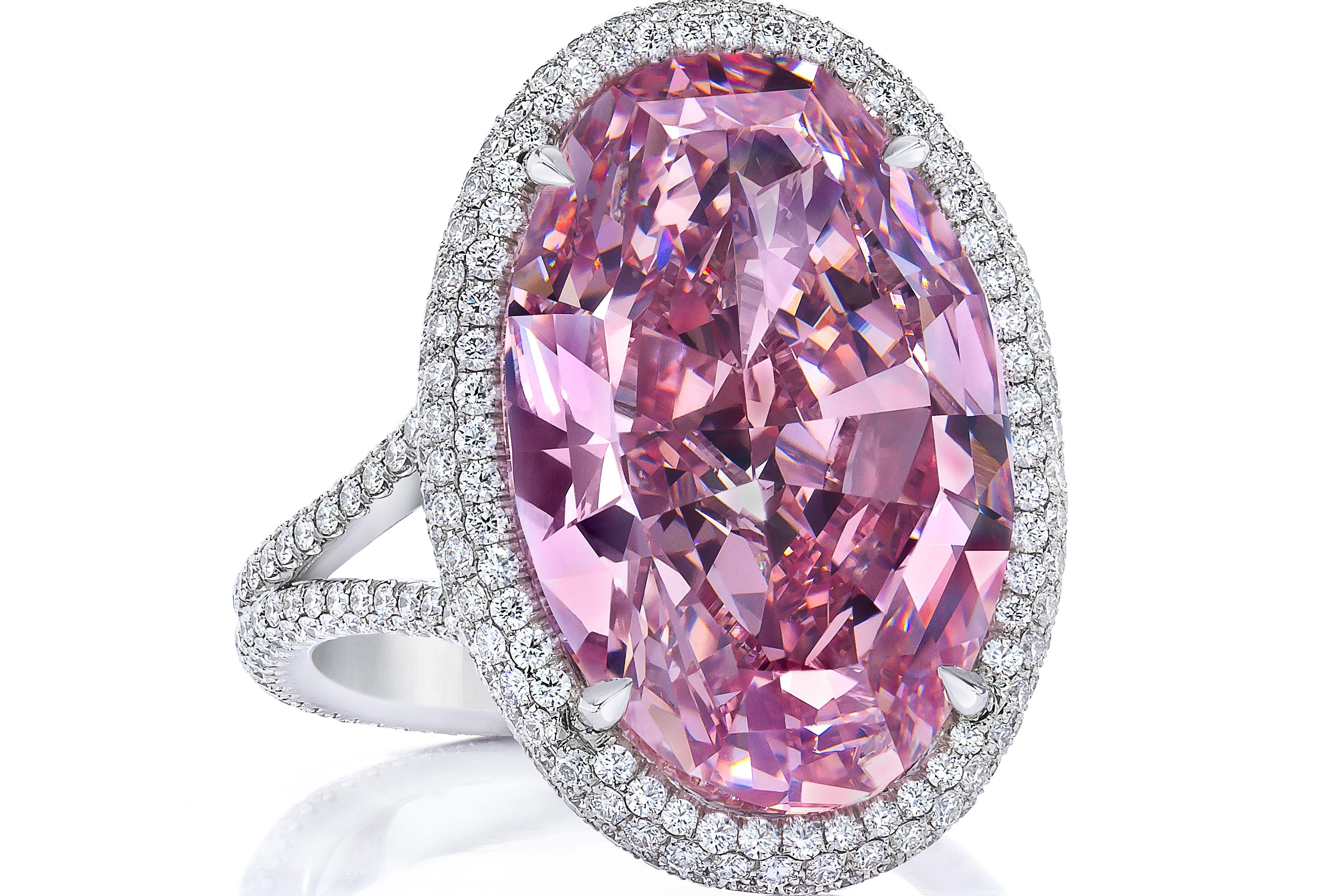 Pink Promise\' Diamond Fetches $32 Million at Auction   Diamond ...