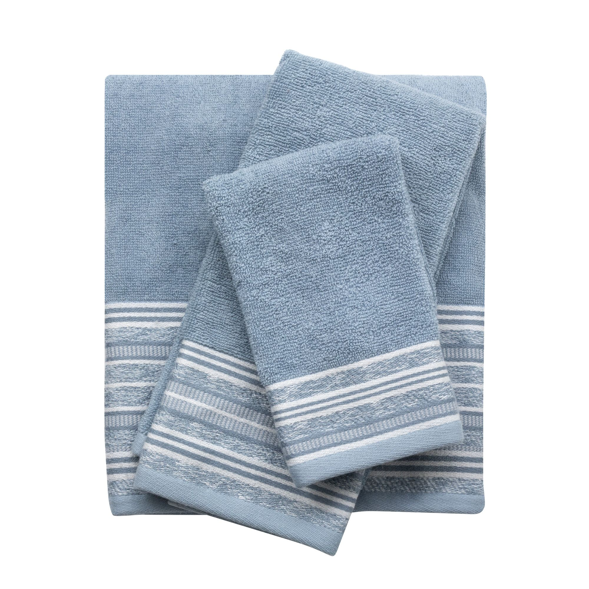 The Nomad 100 Cotton Terry Towels Feature A Flat Woven Dobby