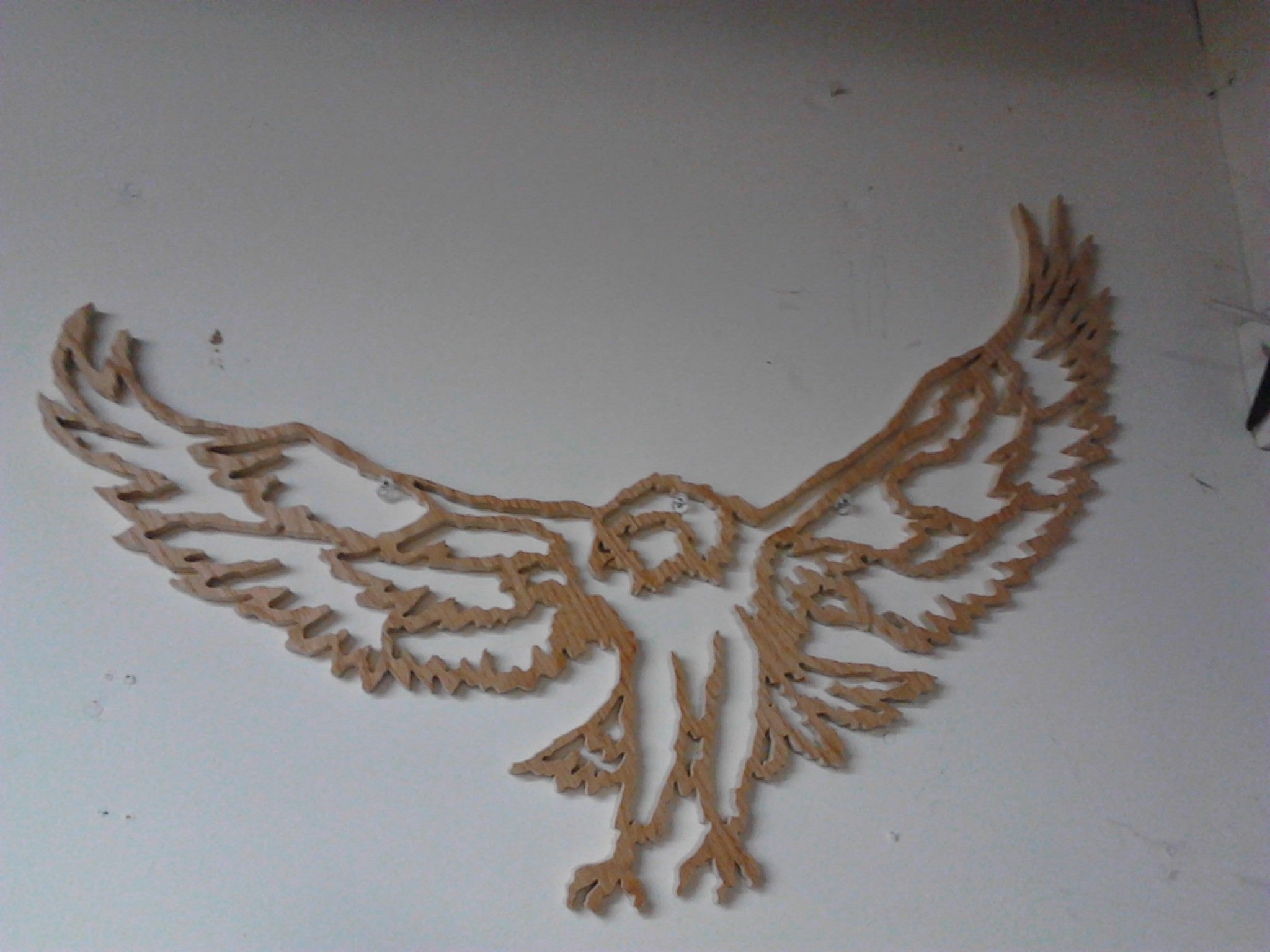 Scroll Saw Eagle 38 Inch Wing Span Wje Woodworking And