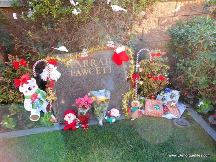 Christmas Eve day at Westwood Village Cemetery