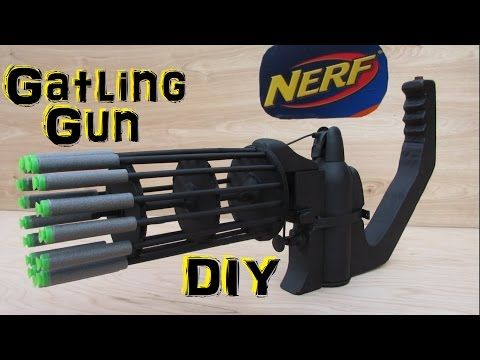 Mark Rober has invented the world's biggest NERF gun. (YouTube)