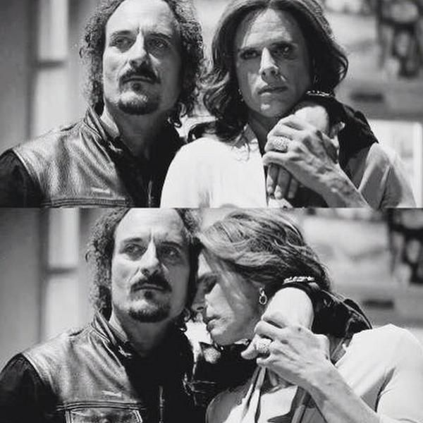 Tig Trager And Venus Van Dam Sons Of Anarchy Sons Of Anarchy Sons Trager