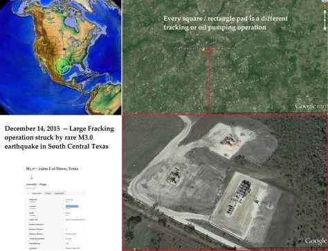 12/14/2015 — Texas struck by rare M3.0 fracking earthquake at huge pumping operation   Earthquake. Earthquake prediction. Pumping