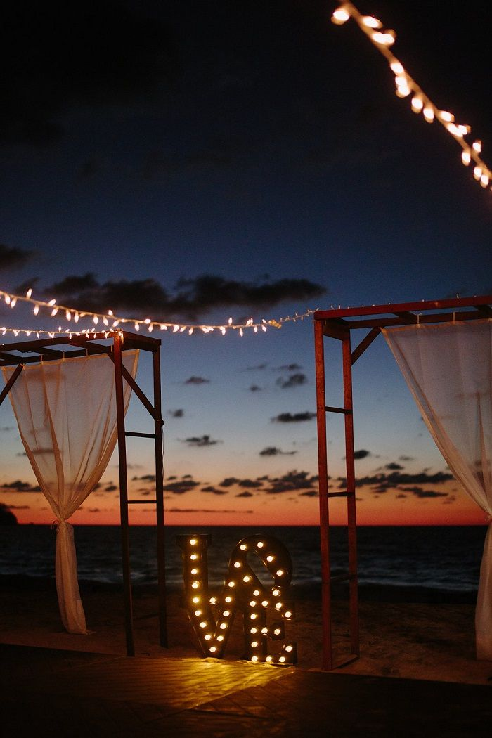 Wedding Reception on The Beach Decorations | Fab Mood