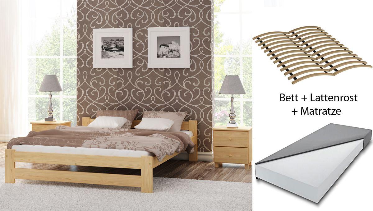 Betten Aus Holz Liegen Gerade Absolut Im Trend Mit Unseren Mobeln Richten Sie Das Schlafzimmer Komfortabel Ganz Nach Bett Mit Lattenrost Doppelbett Haus Deko