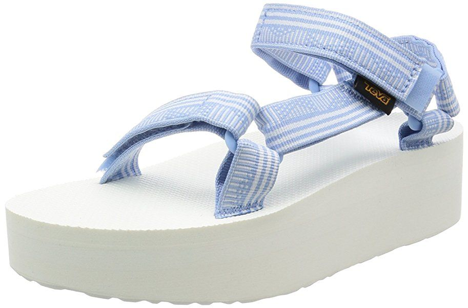 d5782c776afb14 Teva Women s Flatform Universal Platform Sandal - size 8