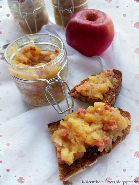 Kulinarikus Kleine Geschenke aus der Küche Apfel-Speck-Aufstrich - kleine geschenke aus der küche