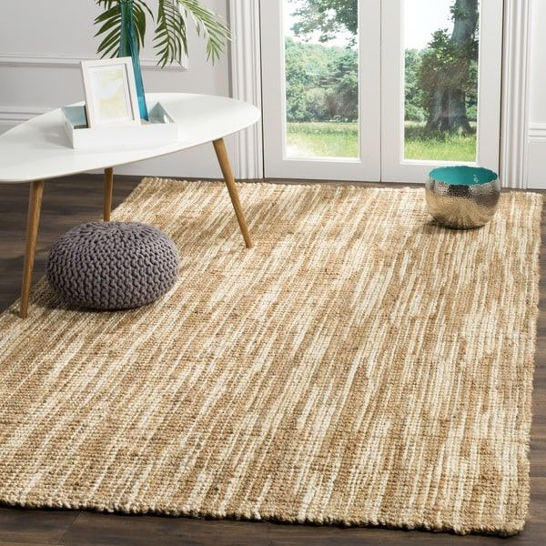 Safavieh Natural Fiber Contemporary Handmade Cream Jute Rug 6 X 9