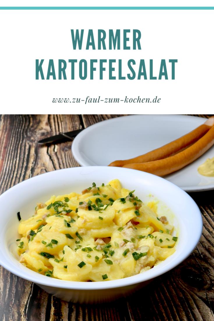 Photo of Warmer Kartoffelsalat  Zu Faul Zum Kochen ?