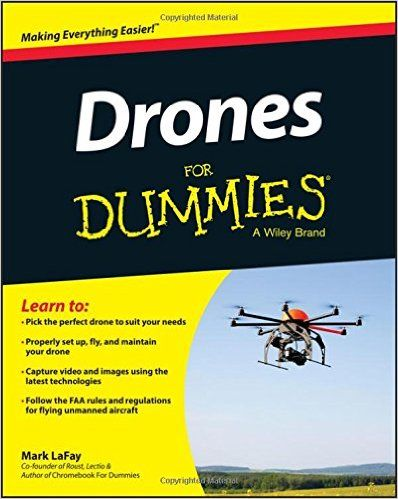 Learn everything about drones here! Get it on Amazon! Drones